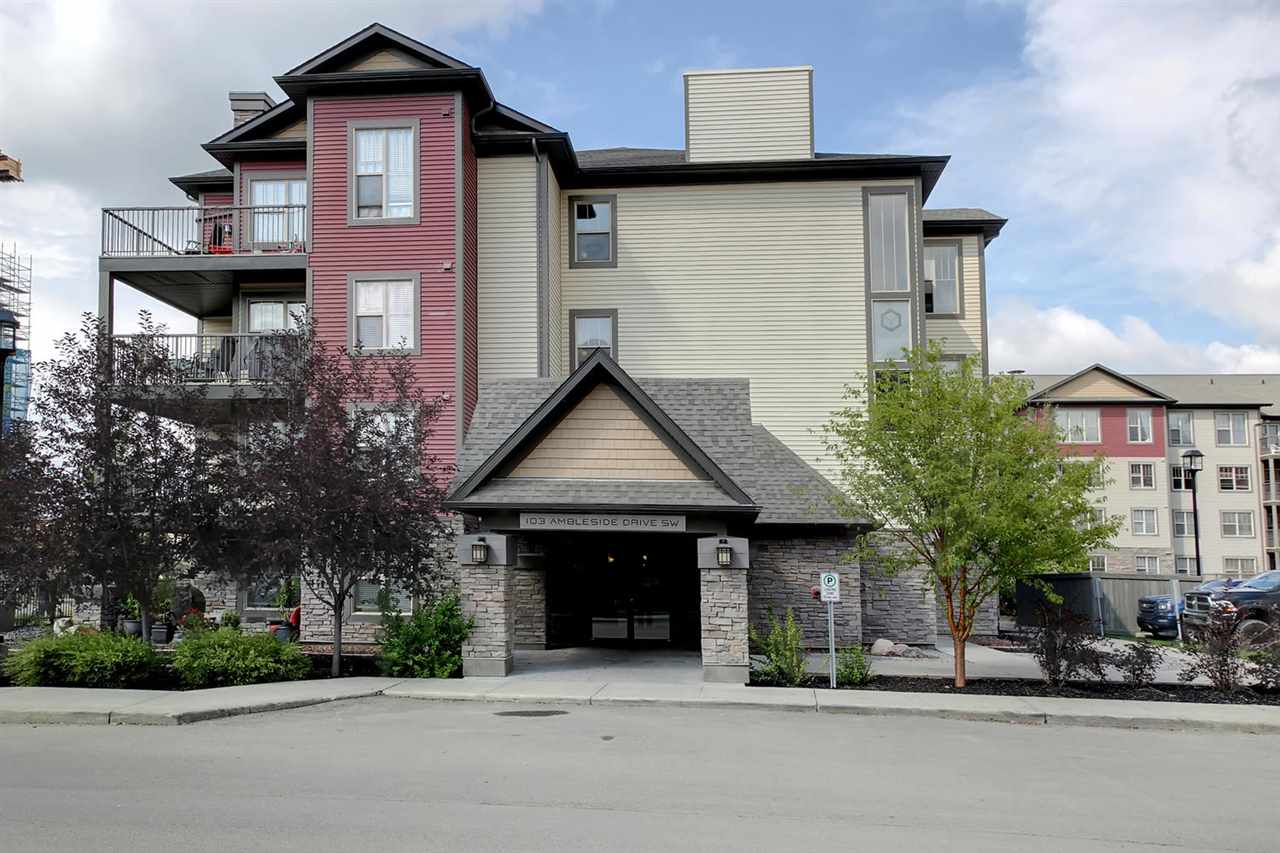 Photo 1: 201 103 Ambleside Drive in Edmonton: Zone 56 Condo for sale : MLS® # E4077305