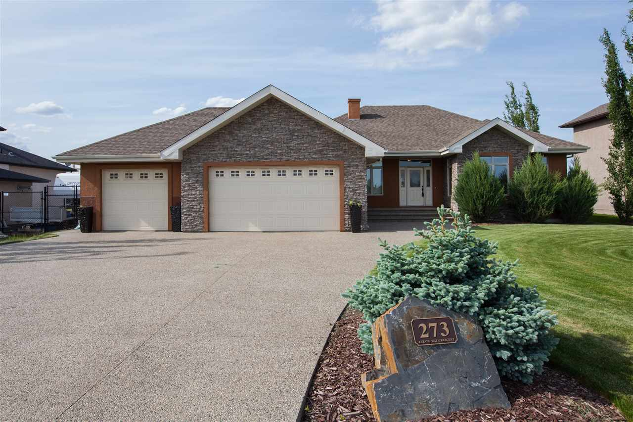 Main Photo: 273 Estate Way Crescent: Rural Sturgeon County House for sale : MLS® # E4078289