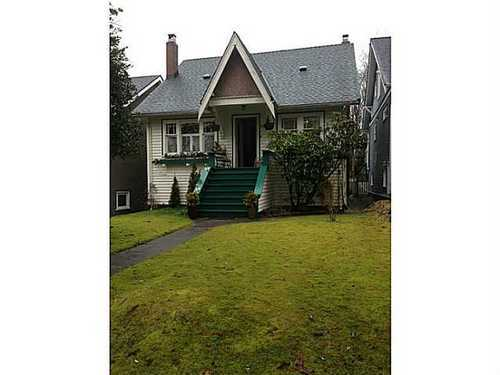 Main Photo: 3947 22ND Ave W in Vancouver West: Home for sale : MLS®# V1045258