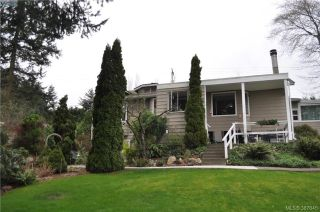 Main Photo: 6225 Pat Bay Highway in VICTORIA: CS Martindale Single Family Detached for sale (Central Saanich)  : MLS® # 387645