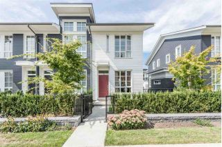 "Main Photo: 130 548 FOSTER Avenue in Coquitlam: Coquitlam West Townhouse for sale in ""BLACK & WHITE ON FOSTER"" : MLS® # R2249665"