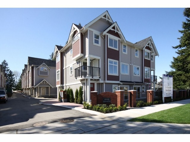 Main Photo: # 20 10265 141ST ST in Surrey: Whalley Townhouse for sale (North Surrey)  : MLS® # F1318245