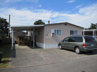 "Main Photo: 263 201 CAYER Street in Coquitlam: Maillardville Manufactured Home for sale in ""WILDWOOD PARK"" : MLS®# V1037908"