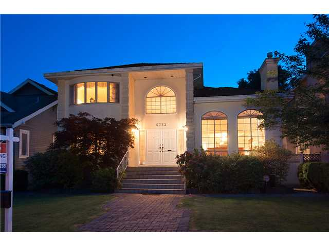 FEATURED LISTING: 6723 CYPRESS Street Vancouver