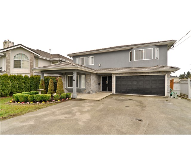 "Main Photo: 216 WOOD Street in New Westminster: Queensborough House for sale in ""QUEENSBOROUGH"" : MLS® # V1071754"