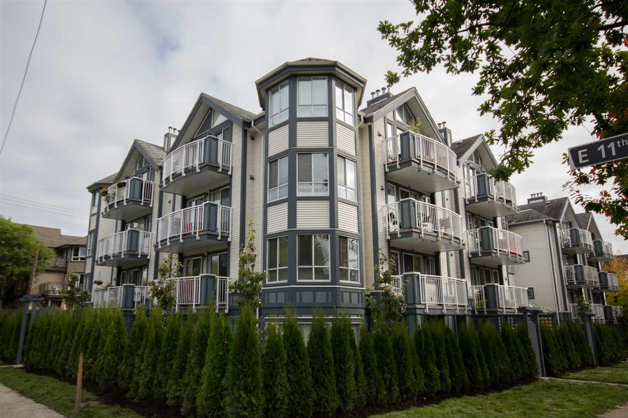 "Main Photo: 307 2736 VICTORIA Drive in Vancouver: Grandview VE Condo for sale in ""Royal Victoria Gardens"" (Vancouver East)  : MLS® # R2112228"