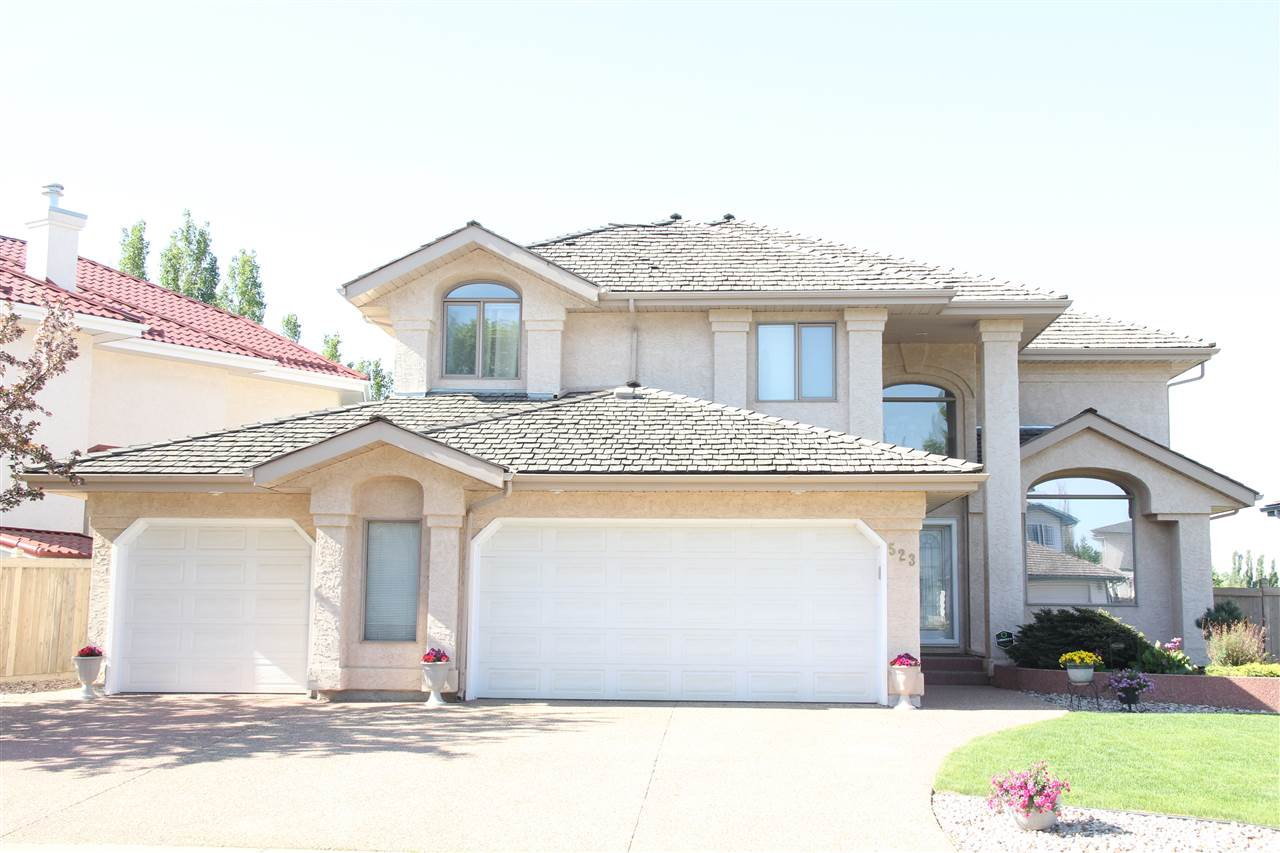 Main Photo: 523 TWIN BROOKS Bay in Edmonton: Zone 16 House for sale : MLS(r) # E4066171