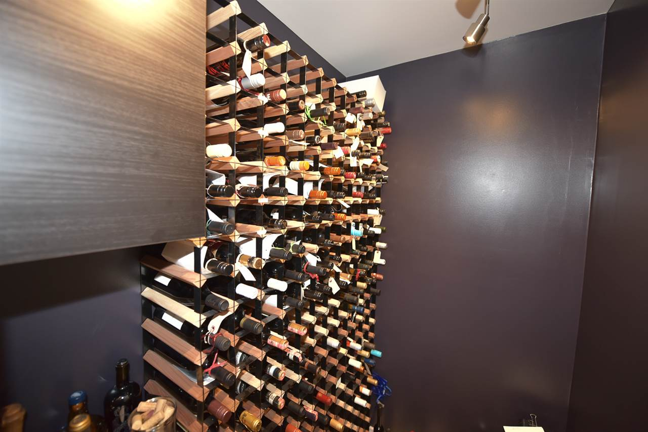 Room to store your wine collection.