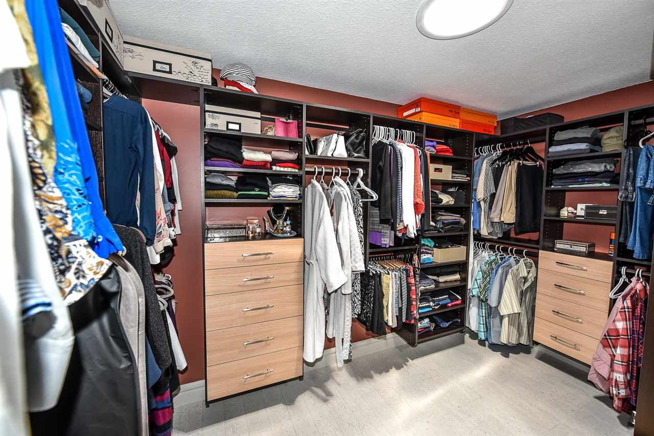 Check this out.  A huge walk-in closet by California Closets accented by a sun tunnel that sprays the room with natural light.  This is an outstanding feature of this fine home!