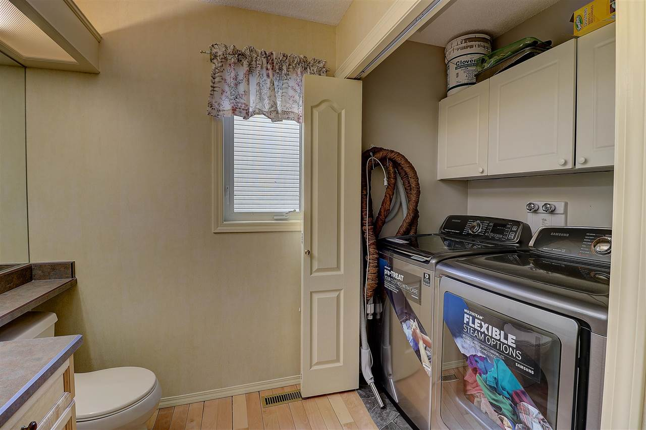 Laundry Room, on the main floor, includes a 2 piece bathroom
