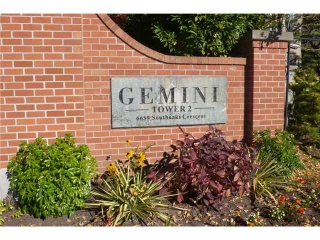 "Main Photo: 601 6659 SOUTHOAKS Crescent in Burnaby: Highgate Condo for sale in ""Gemini II"" (Burnaby South)  : MLS®# V1035373"
