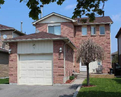 Main Photo: 7 Allard Avenue in Ajax: Central East House (2-Storey) for sale : MLS® # E2918239