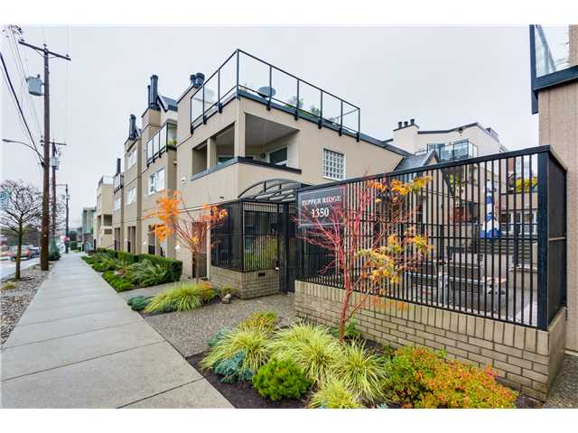"Main Photo: 17 1350 W 6TH Avenue in Vancouver: Fairview VW Townhouse for sale in ""PEPPER RIDGE"" (Vancouver West)  : MLS®# V1094949"