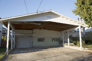 Oversized Carport with Attached Garage