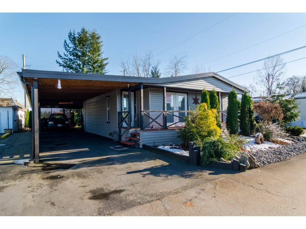 "Main Photo: 175 27111 0 Avenue in Langley: Aldergrove Langley Manufactured Home for sale in ""Pioneer Park"" : MLS® # R2126425"