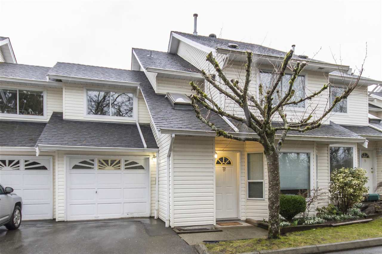 "Main Photo: 72 11588 232 Street in Maple Ridge: Cottonwood MR Townhouse for sale in ""COTTONWOOD VILLAGE"" : MLS® # R2144039"