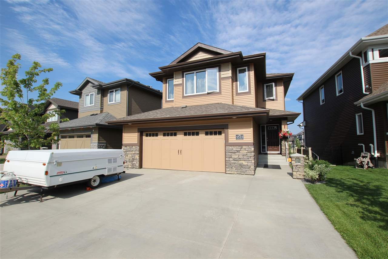 Main Photo: 5522 EDWORTHY Way in Edmonton: Zone 57 House for sale : MLS® # E4073863