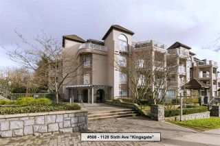 "Main Photo: 508 1128 SIXTH Avenue in New Westminster: Uptown NW Condo for sale in ""Kingsgate"" : MLS® # R2230394"