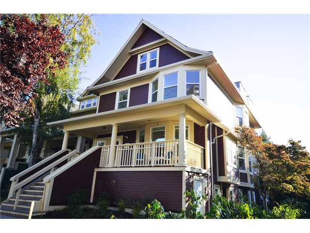 "Main Photo: 1562 COMOX Street in Vancouver: West End VW Townhouse for sale in ""C & C"" (Vancouver West)  : MLS®# V908972"