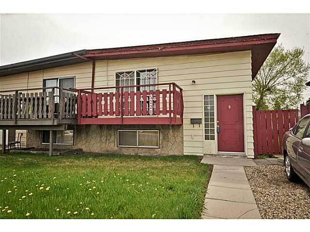 Main Photo: 5221 MARBANK Drive NE in CALGARY: Marlborough Residential Attached for sale (Calgary)  : MLS(r) # C3617329