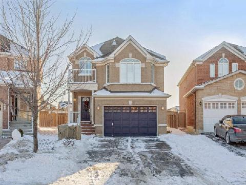 Main Photo: 100 Binder Twine Trail in Brampton: Fletcher's Creek Village House (2-Storey) for sale : MLS(r) # W3094839