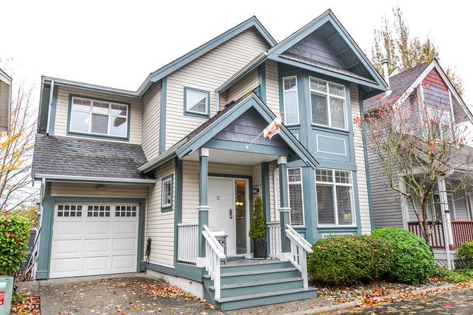 "Main Photo: 5 4771 GARRY Street in Richmond: Steveston South Townhouse for sale in ""GARRY CORNER"" : MLS® # R2117850"