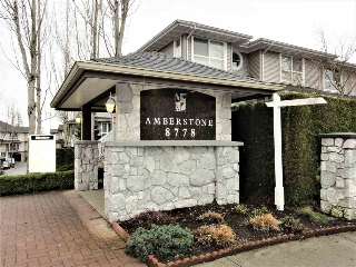 "Main Photo: 3 8778 159 Street in Surrey: Fleetwood Tynehead Townhouse for sale in ""Amberstone"" : MLS(r) # R2139808"