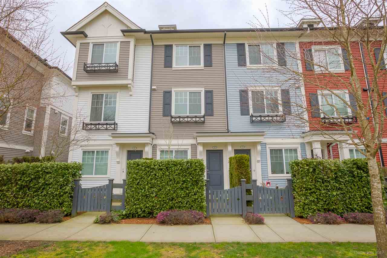"Main Photo: 80 3010 RIVERBEND Drive in Coquitlam: Coquitlam East Townhouse for sale in ""WESTWOOD BY MOSAIC"" : MLS® # R2152995"
