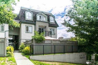 Main Photo: 108 219 BEGIN Street in Coquitlam: Maillardville Townhouse for sale : MLS(r) # R2156739