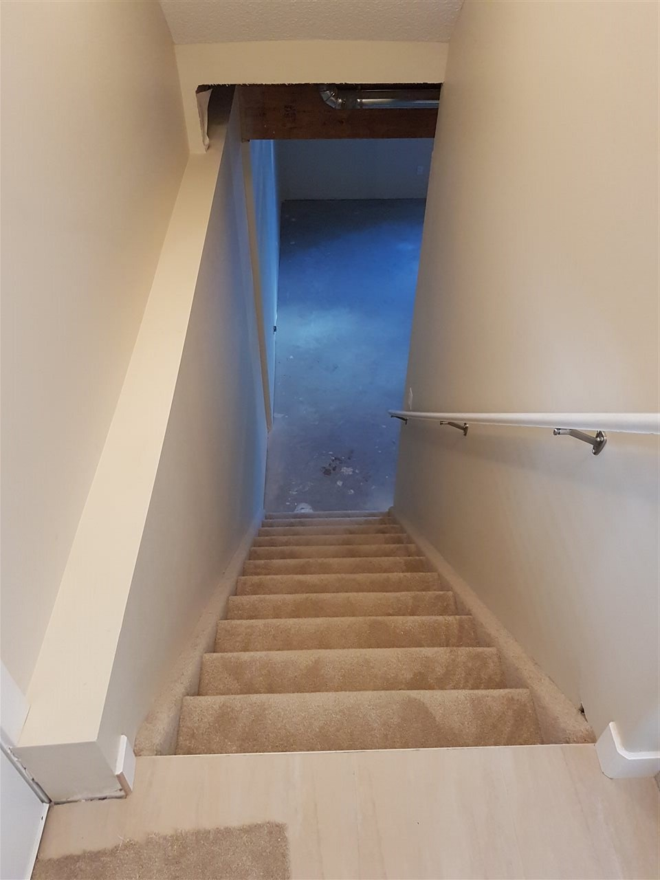 staircase to the basement