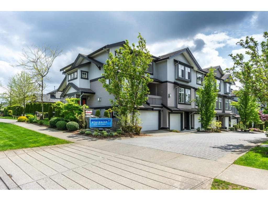 "Main Photo: 38 18828 69 Avenue in Surrey: Clayton Townhouse for sale in ""STARPOINT AT CLAYTON VILLAGE"" (Cloverdale)  : MLS(r) # R2169127"