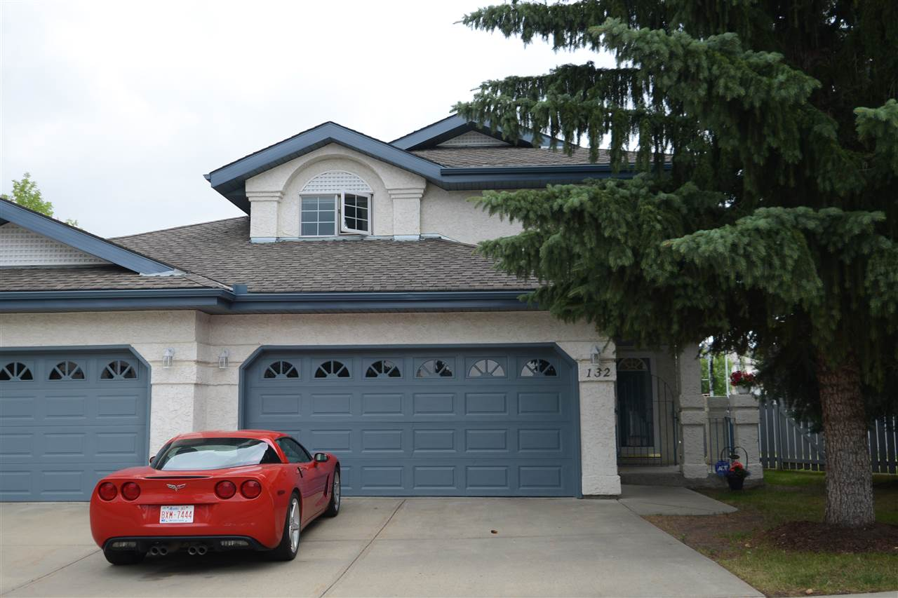 Main Photo: 132 OEMING Road in Edmonton: Zone 14 House Half Duplex for sale : MLS® # E4073431