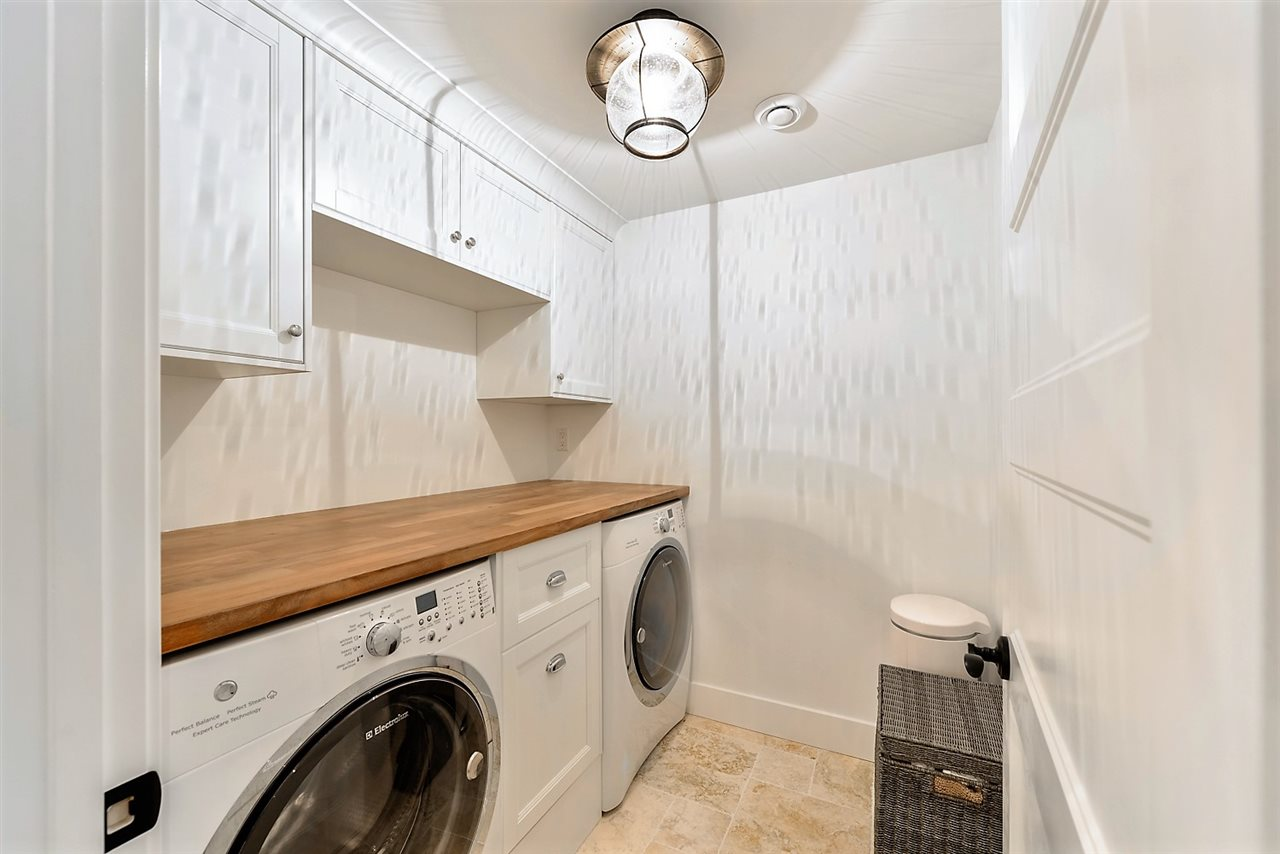 Second Laundry room in Walkout Basement Suite with Separate Entrance.