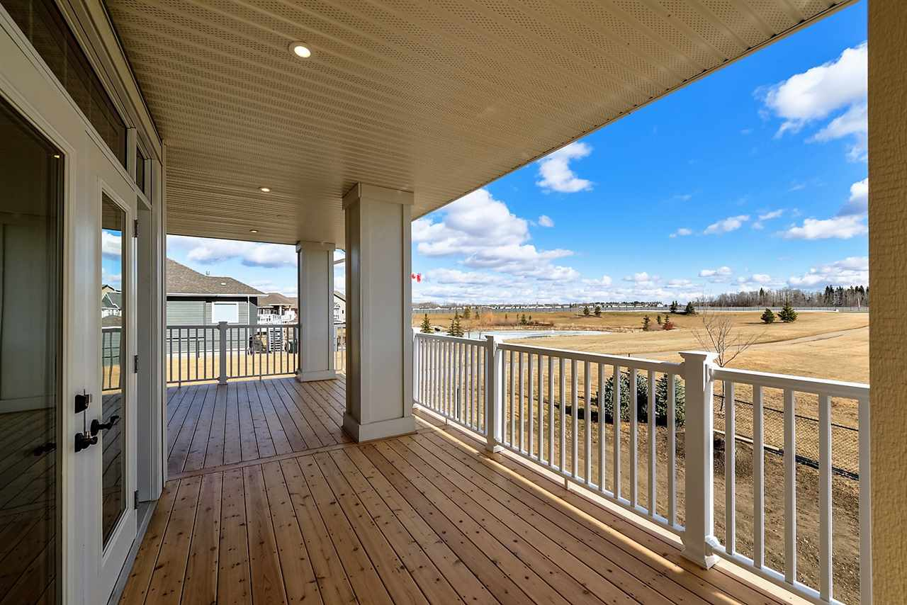 Covered Deck located off Main Floor Living