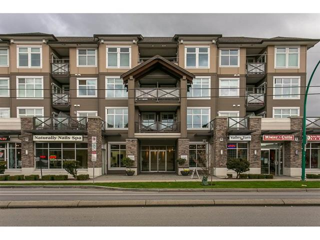Main Photo: 411 18818 68 Avenue in Cloverdale: Clayton Condo for sale : MLS®# R2155262