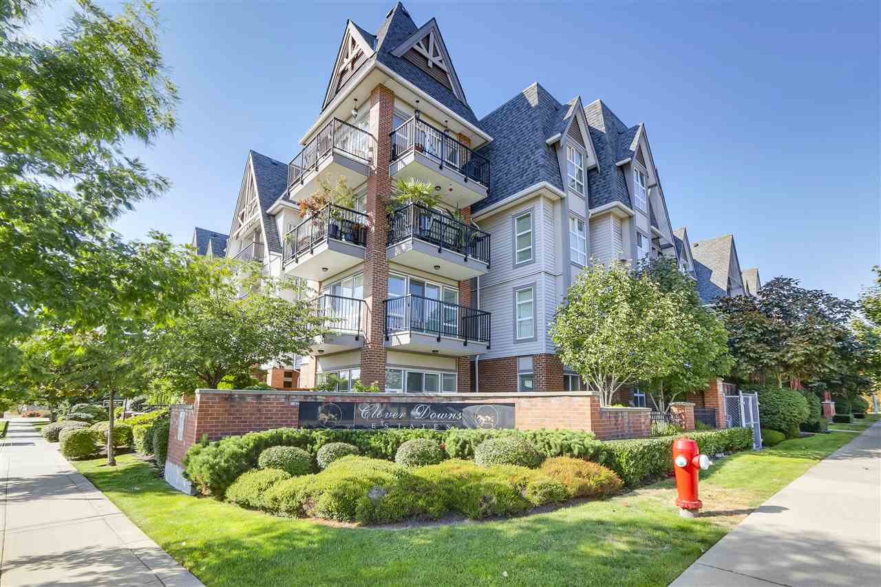 "Main Photo: 214 17769 57 Avenue in Surrey: Cloverdale BC Condo for sale in ""Cloverdowns Estates"" (Cloverdale)  : MLS® # R2206492"
