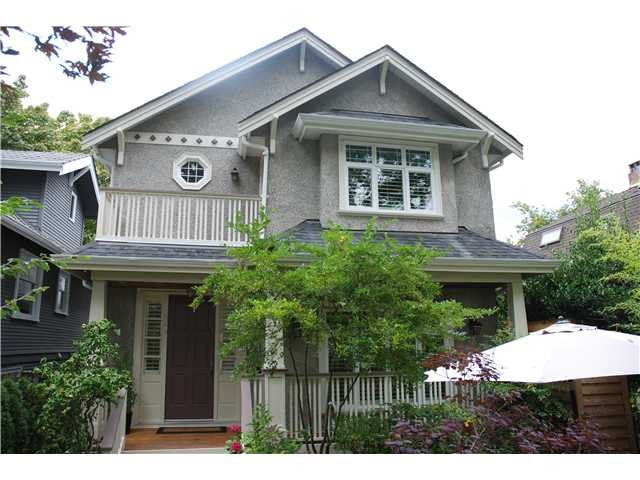 Main Photo: 3515 W 22ND Avenue in Vancouver: Dunbar House for sale (Vancouver West)  : MLS® # V985154