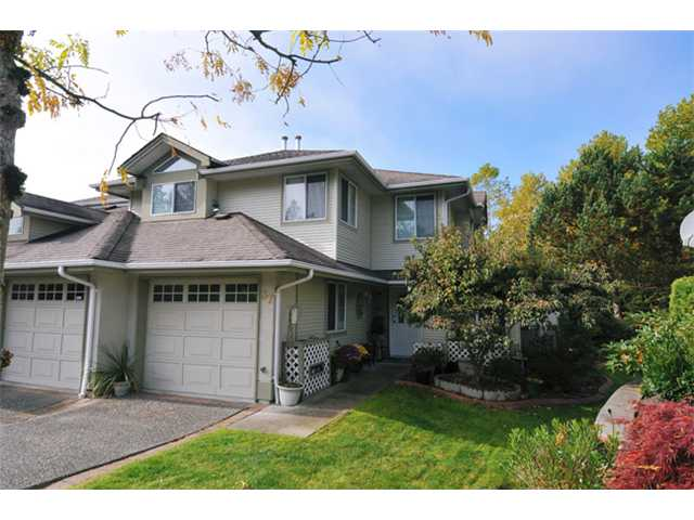 "Main Photo: 37 22740 116TH Avenue in Maple Ridge: East Central Townhouse for sale in ""FRASER GLEN"" : MLS® # V1032832"