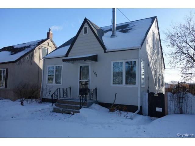 Main Photo: 801 Clifton Street in WINNIPEG: West End / Wolseley Residential for sale (West Winnipeg)  : MLS® # 1504351