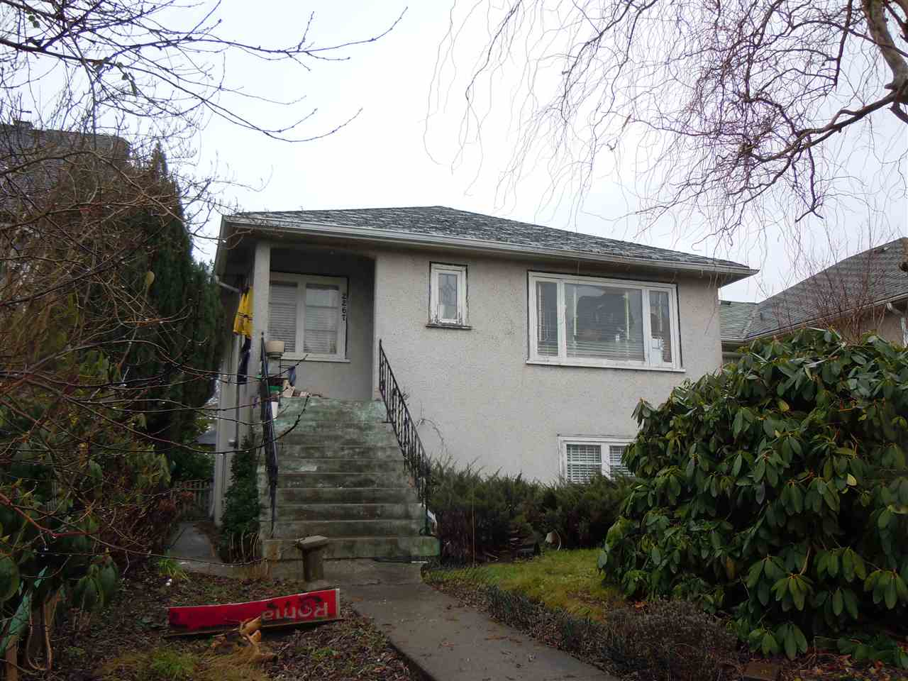 Main Photo: 2267 E BROADWAY in Vancouver: Grandview VE House for sale (Vancouver East)  : MLS® # R2023615