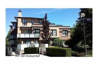 Main Photo: 29 1863 WESBROOK Mall in Vancouver: University VW Condo for sale (Vancouver West)  : MLS(r) # R2138665