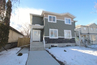 Main Photo: 10406 155 Street in Edmonton: Zone 21 House Half Duplex for sale : MLS(r) # E4051080