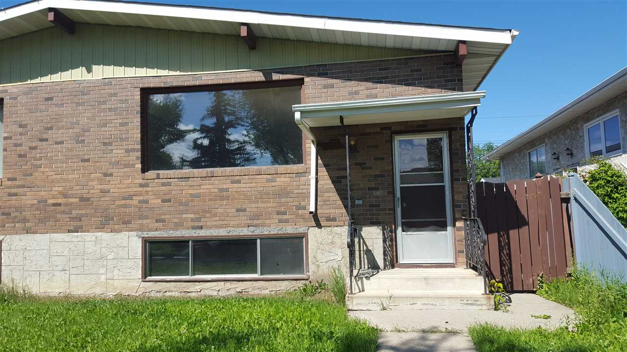Main Photo: 12912 125 Street in Edmonton: Zone 01 House Half Duplex for sale : MLS® # E4068964