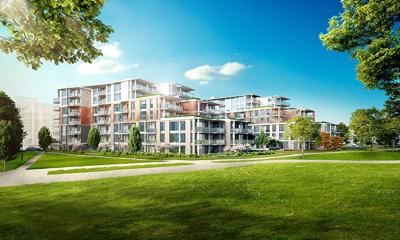 Main Photo: 201-3188 Riverwalk Ave in Vancouver: Champlain Heights Condo for sale (Vancouver East)