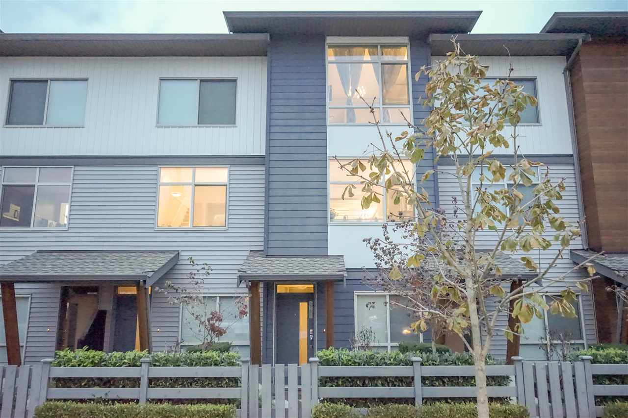 Main Photo: 11 8473 163 Street in Surrey: Fleetwood Tynehead Townhouse for sale : MLS®# R2221179