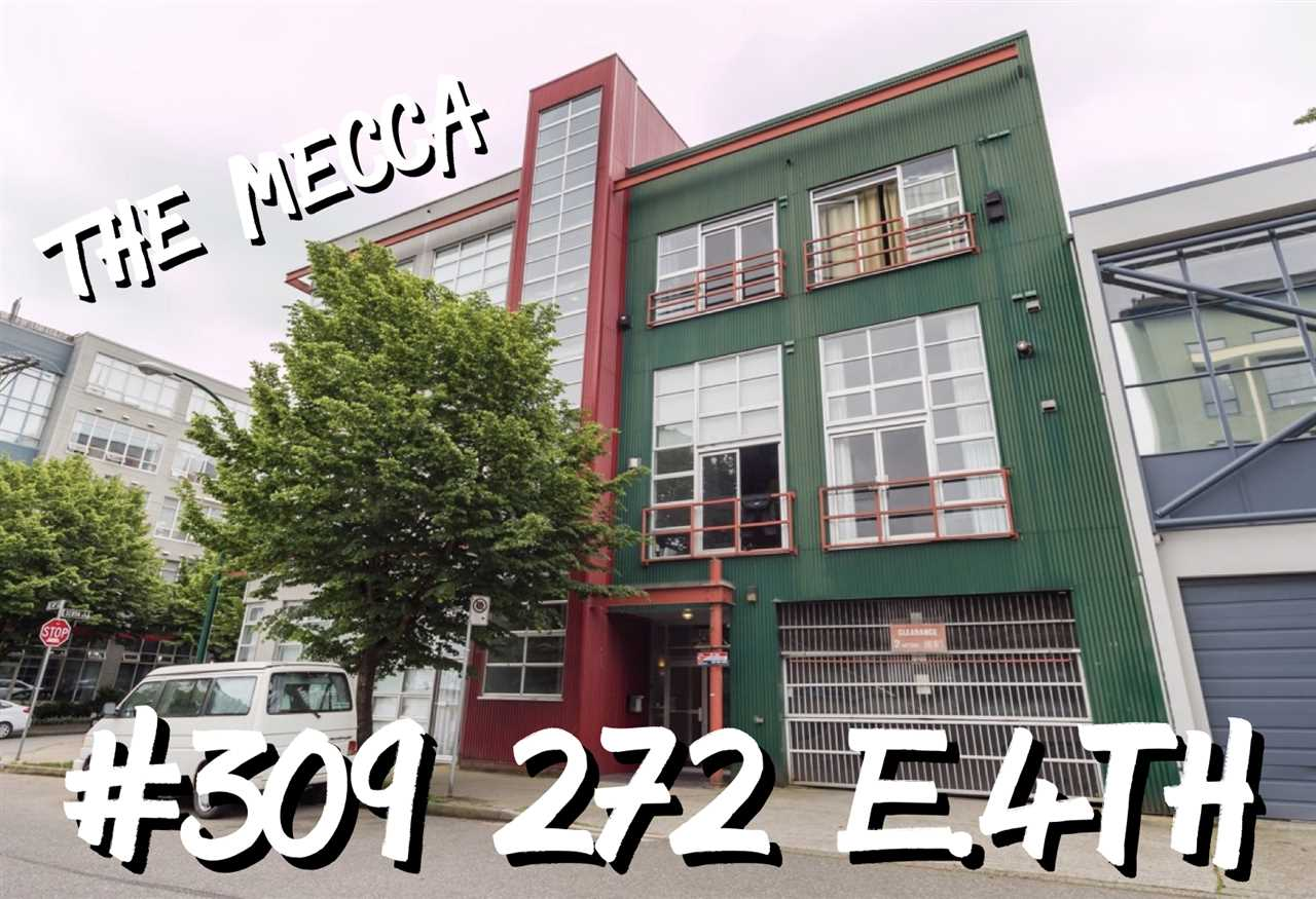 "Main Photo: 309 272 E 4TH Avenue in Vancouver: Mount Pleasant VE Condo for sale in ""THE MECCA"" (Vancouver East)  : MLS®# R2271043"