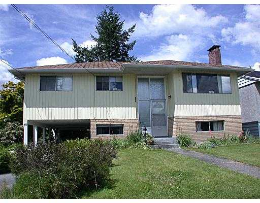 Main Photo: 585 DUNCAN AV in Burnaby: Sperling-Duthie House for sale (Burnaby North)  : MLS® # V541552