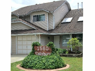 Main Photo: 2 1560 SALISBURY Avenue in Port Coquitlam: Glenwood PQ Townhouse for sale : MLS(r) # R2083529
