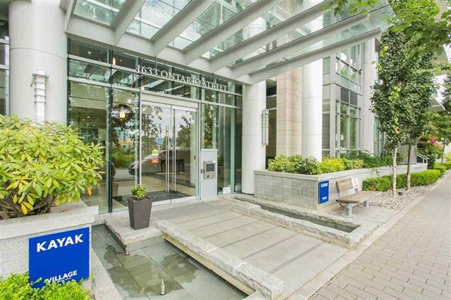 Main Photo: 505 1633 ONTARIO Street in Vancouver: False Creek Condo for sale (Vancouver West)  : MLS®# R2122293