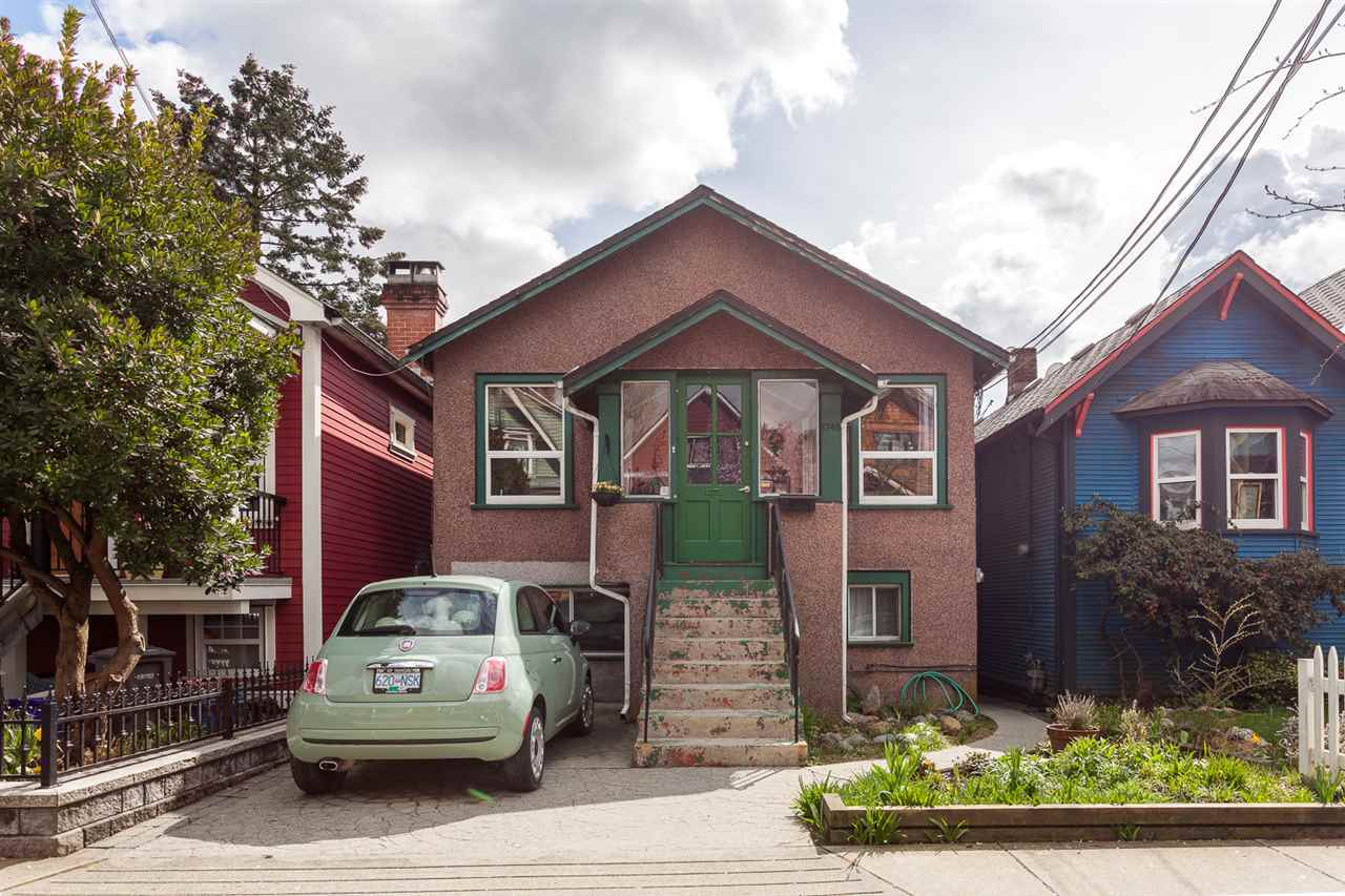 "Main Photo: 1748 E 4TH Avenue in Vancouver: Grandview VE House for sale in ""COMMERCIAL DRIVE"" (Vancouver East)  : MLS®# R2156307"
